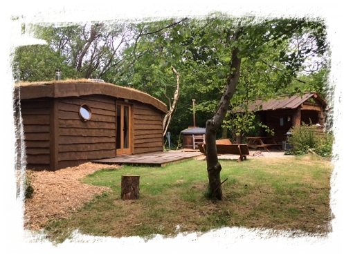 Luxury Hobbit House Glamping Pods Tenby Pembrokeshire
