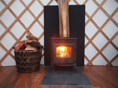 Yurt Log Burner Small