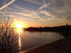 Tenby Harbour Autumn Sunrise